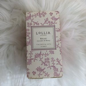 Lollia Relax bathing salts lavender and honey